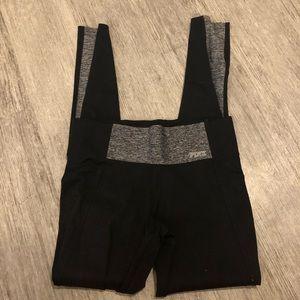 PINK Victoria's Secret Pants - Victoria secret pink yoga pants black gray xs